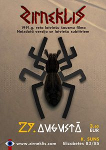 Spider.AKA.Zirneklis.1991.720p.BluRay.AAC2.0.x264-HaB – 7.8 GB