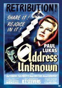 Address.Unknown.1944.1080p.BluRay.REMUX.AVC.FLAC.1.0-EPSiLON – 12.7 GB