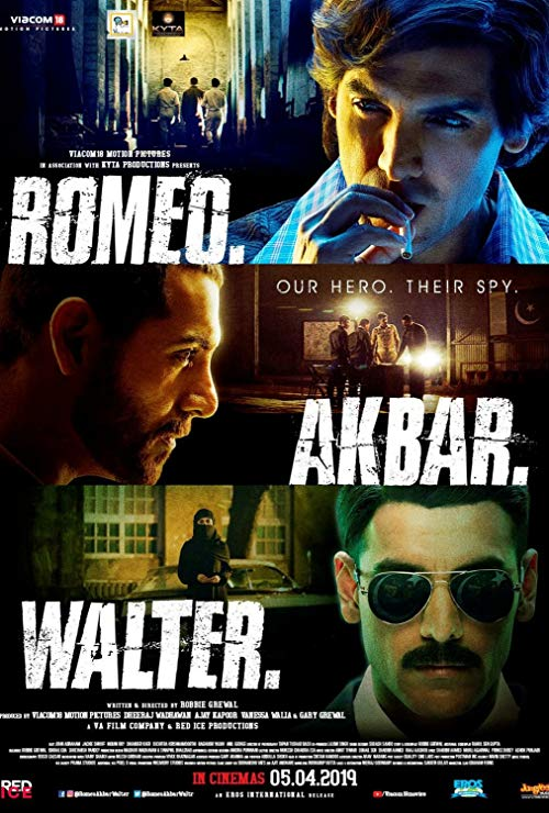 Romeo Akbar Walter 2019 Hindi 1080p NF WEB-DL H264 DD+5 1