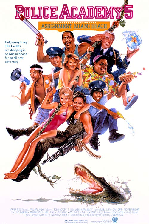 Police Academy 5-Assignment-Miami Beach 1988 1080p Blu-ray