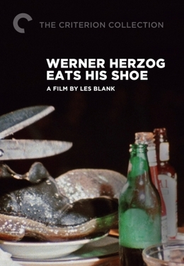 Werner Herzog Eats His Shoe